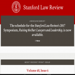 Standford Law Review